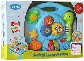 Music Bayi MUSICAL LEARNING TABLE 1088 Mainan Anak