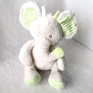 Popito Popito Elephant Stuffed Toy (Green Ear)
