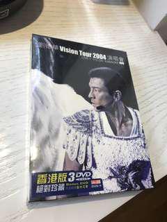 劉德華VISION TOUR 2004 演唱會 3DVD 全新