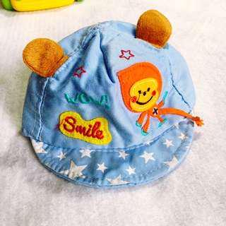 Baby Boy Blue Monkey Cap