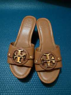 Authentic Original Tory Burch Shoes Sandals wedge