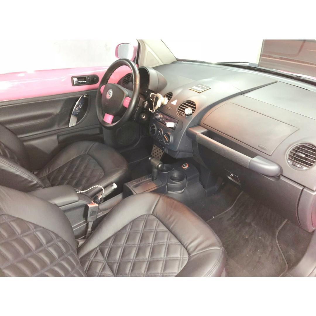 正妹專用車2005 VW BEETLE 粉紅小龜龜