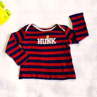 Baby Boy Red Stripe Longsleeves (Carter's 12M on tag)