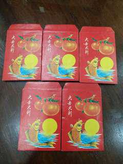 Vintage Red Ang pau packet