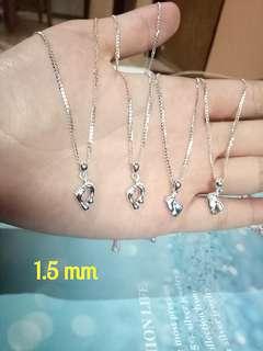 Genuine 925 Italy silver ladies necklace 👣