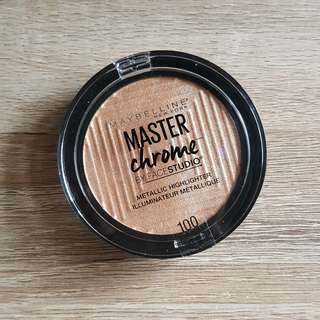 Maybelline Master Chrome in MOLTEN GOLD