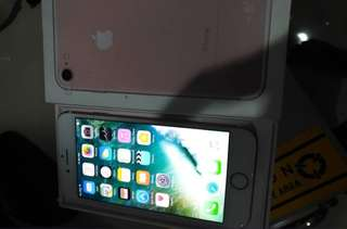 Iphone 7 32gb 全套 fullset