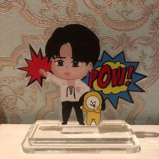 [LIMITED INSTOCK] Chimmy and Jimin Anpanman Standee