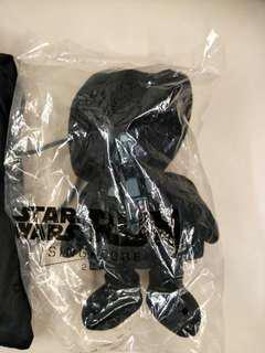 Star Wars toy and bag