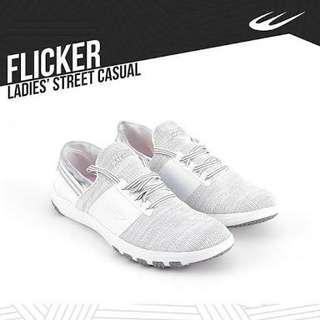 World Balance Flicker White Shoes