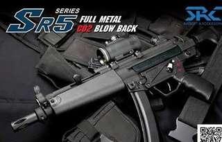 SRC MP5 Co2 Gbbr
