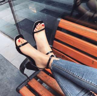Midi heels