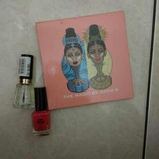 Banting harga!!! Juvia's palette gratis kutek revlon dan hema