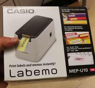 Brand new casio labemo