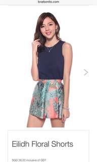Love Bonito Eilidh Floral Shorts
