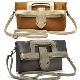 女手袋 銀色 灰色 包包 全新 NEW womens clutch bag handbag HB001