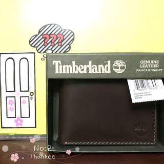 Timberland Wallet 男裝銀包 深啡