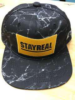 STAY REAL棒球帽 全新