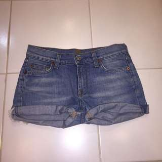 Original 7 For All Mankind Denim Shorts
