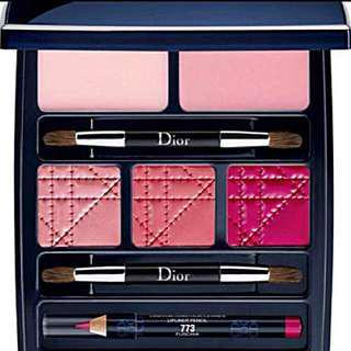100%REAL & 100%NEW Ltd Edition DIOR CELEBRATION COLLECTION Makeup Palette for lips
