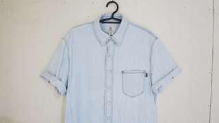 Original Timberland Denim Polo Short Sleeve