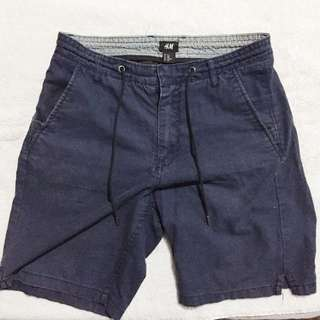 H&M Navy Blue Shorts