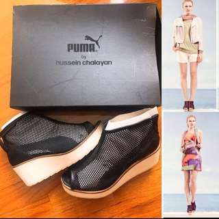 Puma x Hussein Chalayan platform Wedges sneakers shoes 厚底內增高鞋