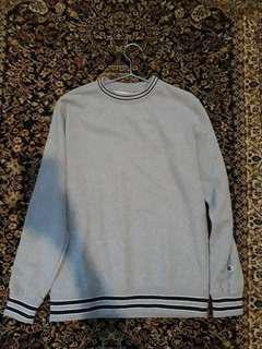 Champion Crewneck Grey 100% Original