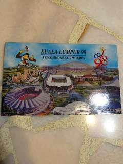 1998 RM50 collectible notes