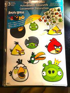 wall decal (angry birds)