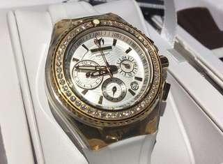 全新 Technomarine Diamond Watch 18k 真鑽石 女裝 手錶 瑞士 1卡鑽石 情人節 情人節禮物 生日禮物 原價$18000