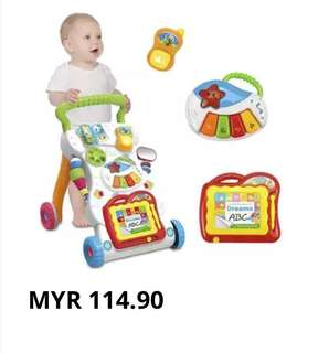 Super Sales Baby Walker 4 in 1 with music