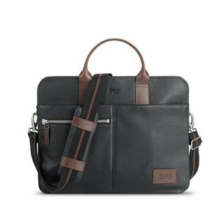 BNWT Solo Brookfield Leather Briefcase