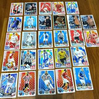 🚚 Match Attax cards/Toppsfootball/Trading card game