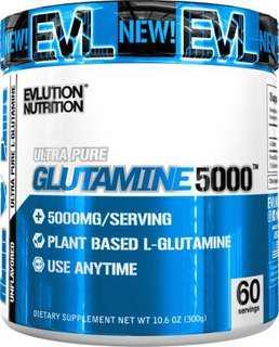 🚚 EVLUTION NUTRITION Glutamine5000 60 servings