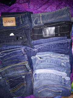 Pants  8Denim and 1 slack type (9pcs SET)