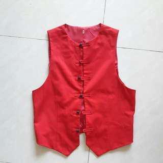 Red Vest #50under