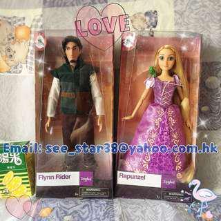 美國迪士尼長髮公主樂佩經典款公仔 Disney Store Rapunzel & Flynn Rider Classic Doll
