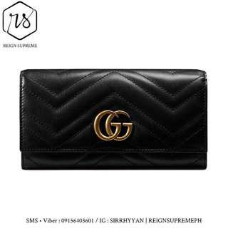 (Repriced) Gucci GG Marmont Continental Wallet