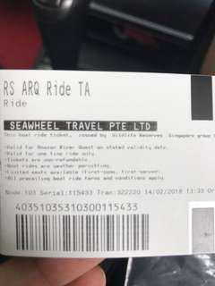 River Safari admission ticket for 2 adults