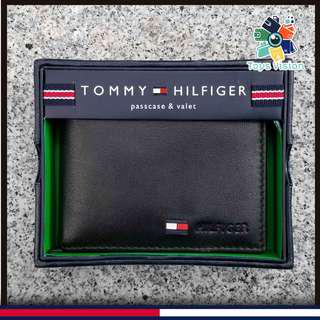 全新 Tommy Hilfiger Men's Leather Wallet 真皮銀包, 黑色
