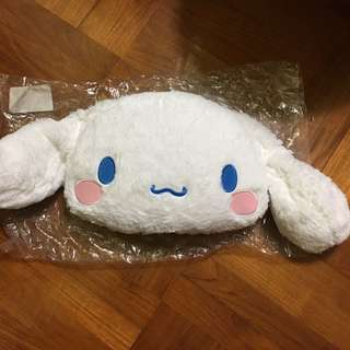 清貨大特賣 Japan Tokyo Sanrio Cinnamoroll 頭 公仔 軟公仔 抱抌