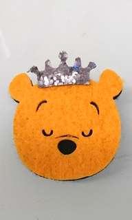 Pooh 維尼 皇冠 扣針 Crown pin