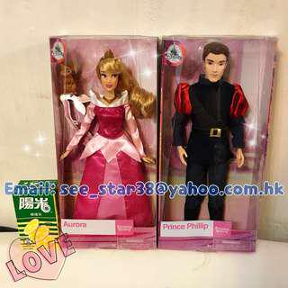 美國迪士尼睡公主經典款公仔 Disney Aurora Sleeping Beauty Classic Doll