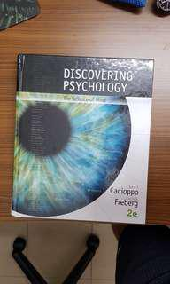 Discovering Psychology 2nd edition(2016) the science of mind