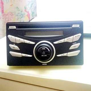 FREE SHIPPING- Original Perodua Axia Bezza Radio CD player PLUG & PLAY