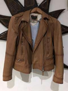 Jaket Kulit Massimo Dutti (Leather Jacket)