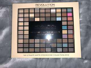 Revolution 144 Ultimate Matte Eyeshadows