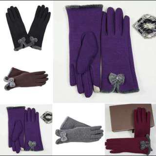 Gloves touchscreen winter