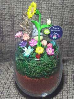 Freezy Flower terrarium (Teacher's Day Promo)